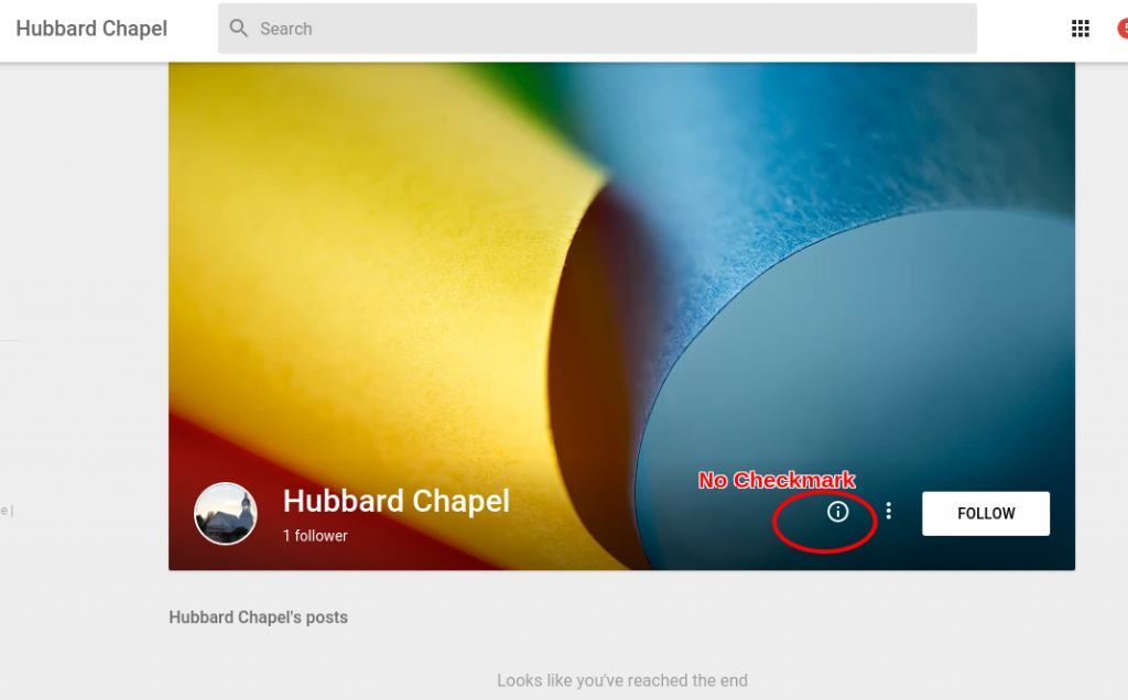 Unverified Google Plus page - does not matter for ranking.