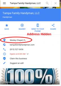 Address Hidden