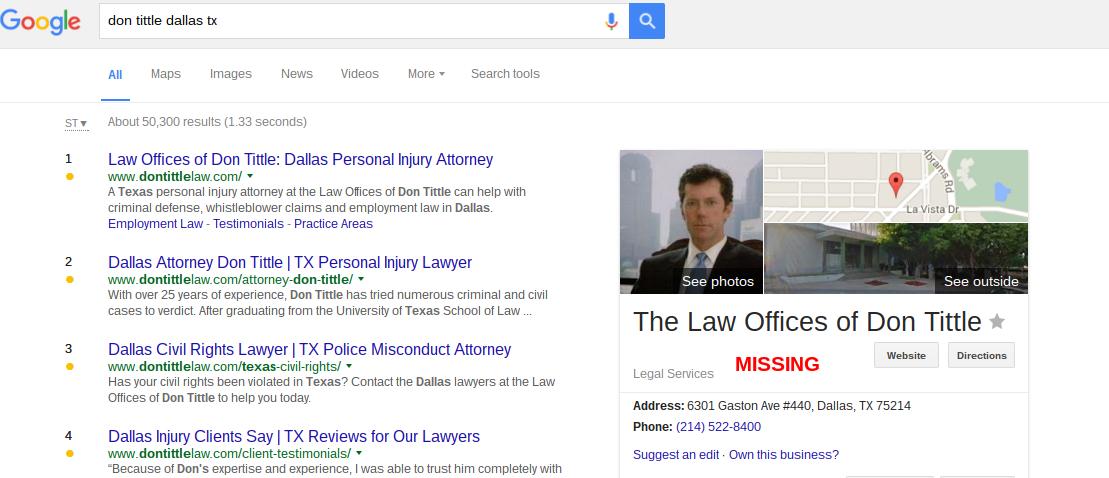 don tittle dallas tx Google Search