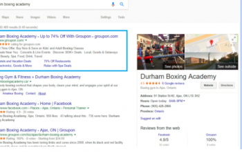 Attention SMBs: Groupon is Targeting Your Existing Customers via Google