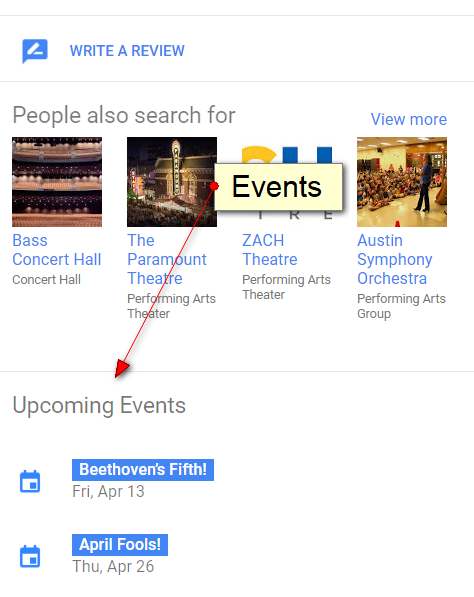 Google Adds Guidelines for Events on Google Maps - Sterling Sky Inc