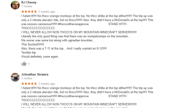Review Spam Hits the Earth's Most Famous Landmarks