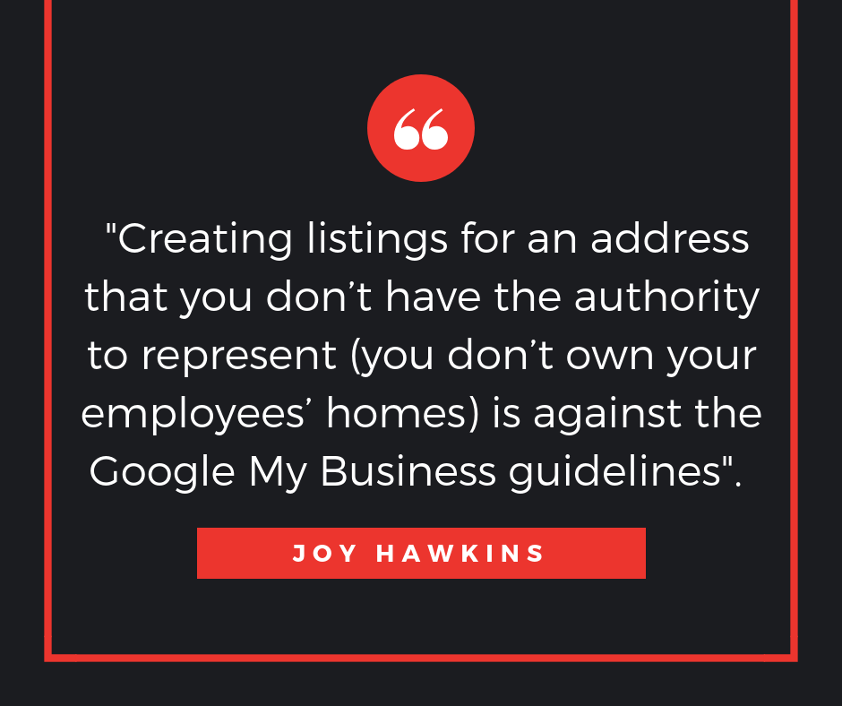 when can service based businesses have multiple google my business listings
