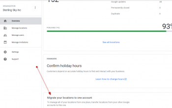 Google My Business Launches a Migration Tool for the Agency Dashboard
