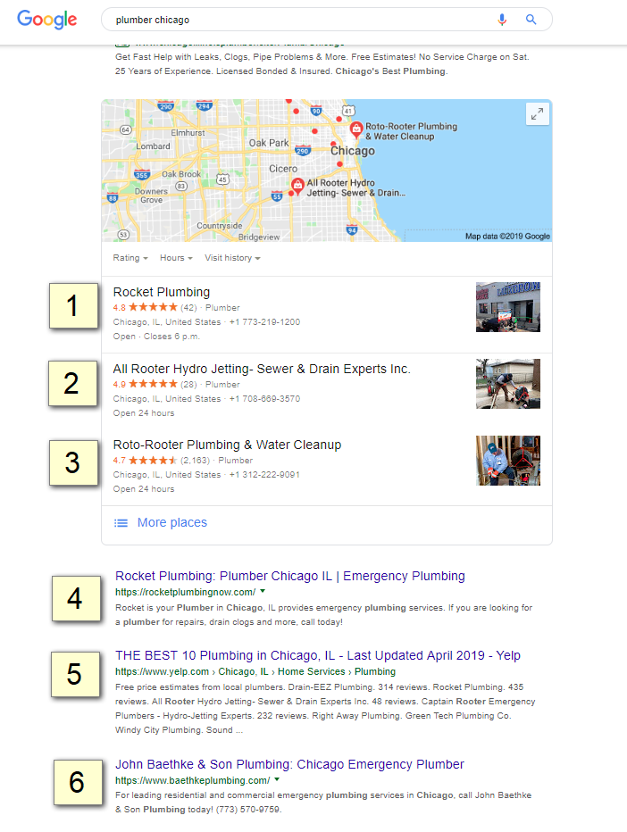 How is Activity from the Local 3-Pack Tracked in Search Console? 4