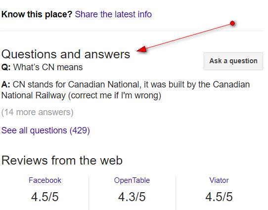 Google My Buisness Questions & Answers