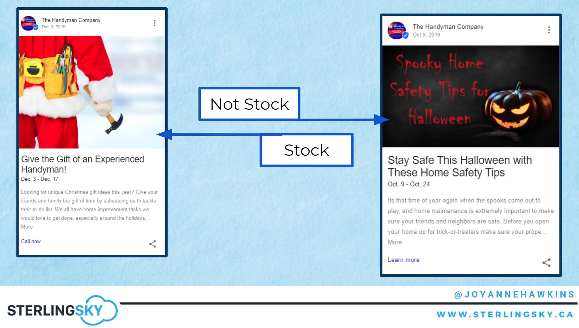GMB Posts: Stock Photos
